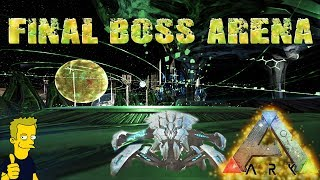 ASCENSION BOSS ARENA- DETAILED LOOK AT THE TEK DEFENSE UNIT & ATTACK DRONE ARK: Survival Evolved