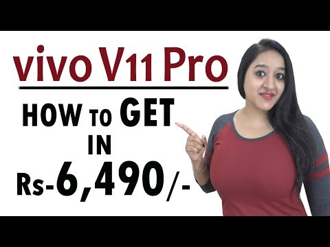 Vivo V11 PRO - Features & HOW TO GET at Rs -6,490