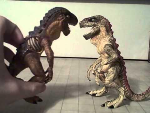 Claw Slasher Baby Godzilla toy review - YouTube