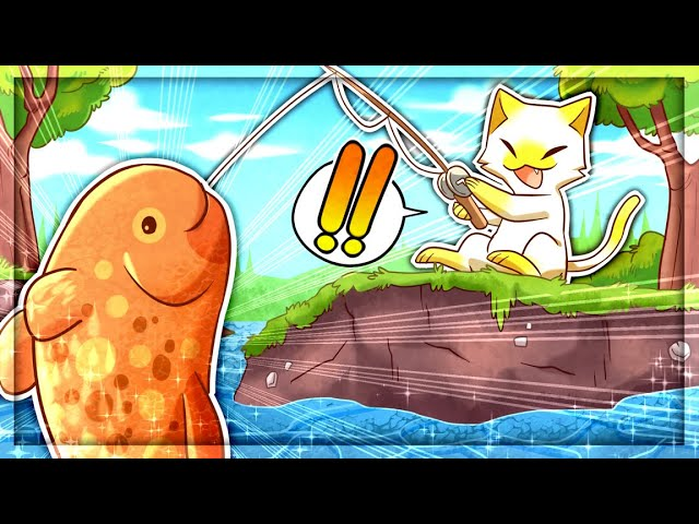 I Caught SECRET FISH in Cat Goes Fishing (Realistic Mode)