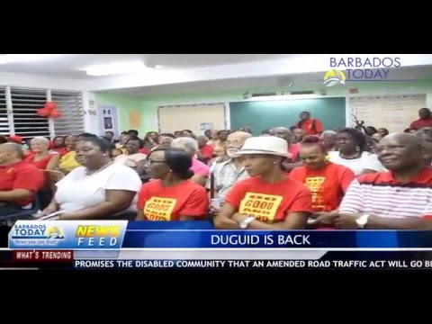 BARBADOS TODAY AFTERNOON UPDATE - April 1, 2016