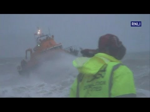 St Jude Storm: RNLI release dramatic footage of sea search in Newhaven