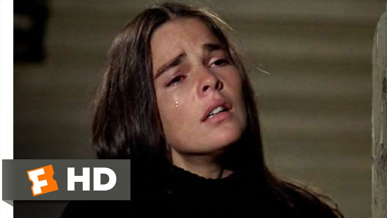 Image result for Ali macgraw love story crying