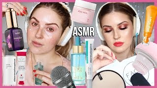 Pampering My Skin in ASMR 💦 *awkward* trying something new lol help