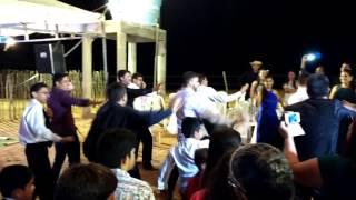 Dança do noivo e amigos -  Casamento Bela e Erik