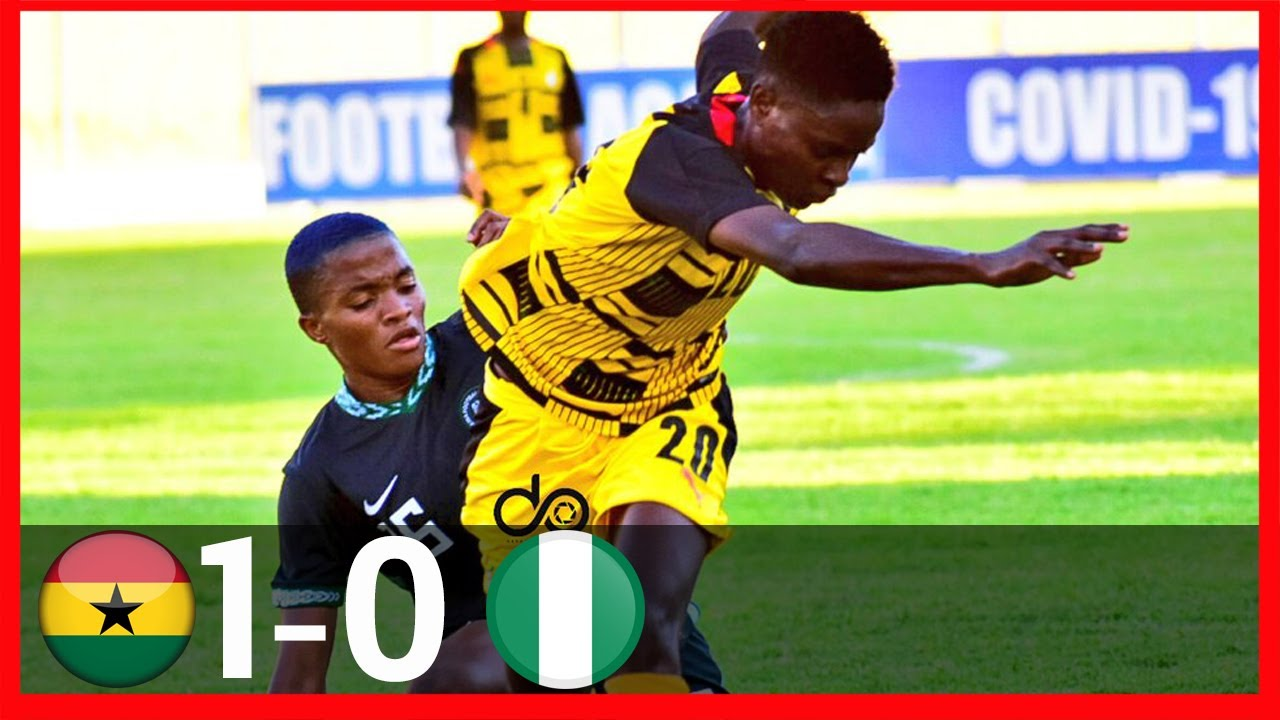 Download GHANA VS NIGERIA(1-0)-AWCON QUALIFIERS-GOALS&HIGHLIGHTS