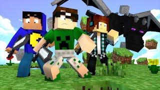 Minecraft: ATAQUE DO DRAGÃO! | Mega SkyWars Mini-Game