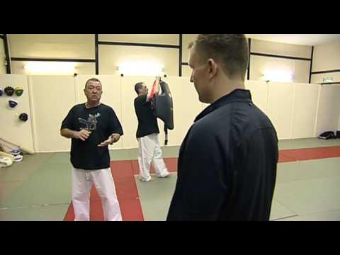 K1 Luke Sines Knockdown Combination Training