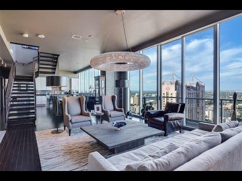 Flawless Penthouse With Skyline Views In San Antonio
