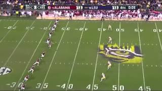 Alabama vs. LSU 2014 (Reuben Foster Hits Leonard Fournette)