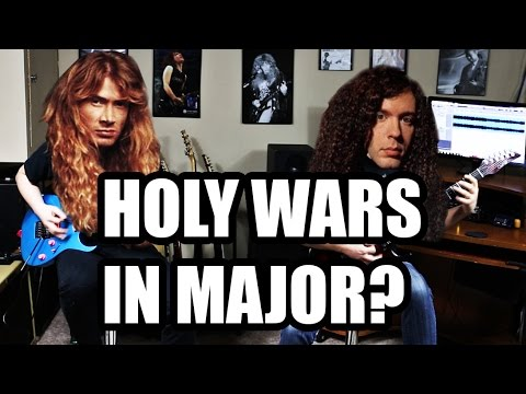 Megadeth - Holy Wars (Major cover FULL song w/ solos!)