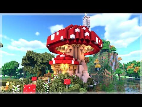 Minecraft How To Build A Mushroom House Tutorial | Minecraft 1.14 Tutorial