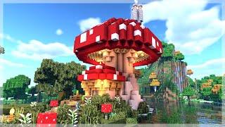 Minecraft How To Build A Mushroom House Tutorial Minecraft 1 14 Tutorial YouTube