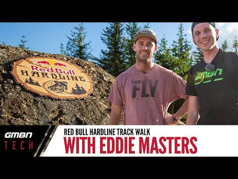 Red Bull Hardline Track Walk   Tech Talk With Ed Masters