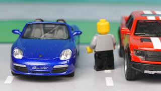Мультик про машинки. Полицейский участок, Полицейская погоня, Ограбление. Серия 240 Мир Машинок