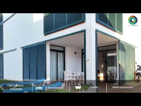 Apartamento en Cala´n Bosch a 100 m. de la Playa y a 50 m. del Puerto deportivo. Con posibilidad de licencia turística