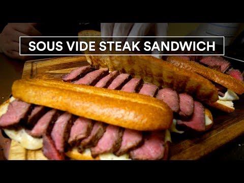 Sous Vide PRIME STEAK Sandwich