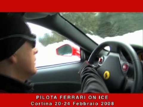 Ferrari on Ice - YouTube