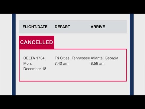 ATL power outage leads to delayed and cancelled flights for Tri-Cities passengers