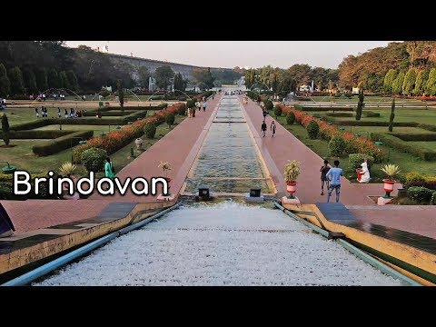 Brindavan Garden Mysore | KRS Brindavan Garden | KRS  Dam Garden Mysore tourism Karnataka tourism