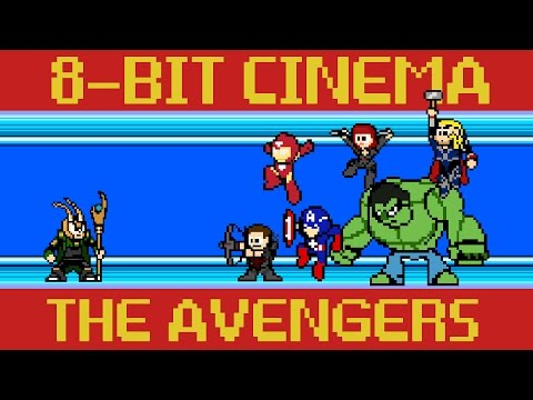 The Avengers - 8-Bit Cinema