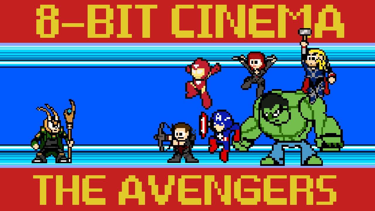 The Avengers 8 Bit Cinema Youtube
