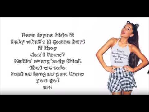 Ariana Grande - Side To Side (Clean) Feat. Nicki Minaj (Lyrics On Screen)