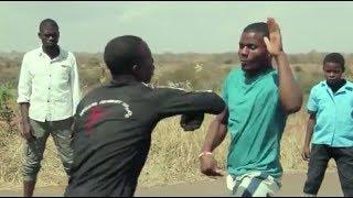African KARATÉ Movie, KUNG FU Scene 3, Malawi Kufewa Acrobatics