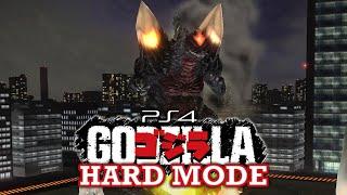 SpaceGodzilla Hard Mode Longplay - GODZILLA [PS4]
