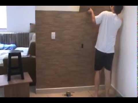 Painel com piso vinilico youtube - Vinilico para paredes ...