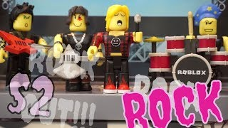 ROBLOX PUNK ROCKERS IN REAL LIFE SERIES 2 TOY UNBOXING!!! HAPPY 2018!!!