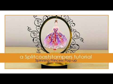 Spinning Princess Pop-Up Card
