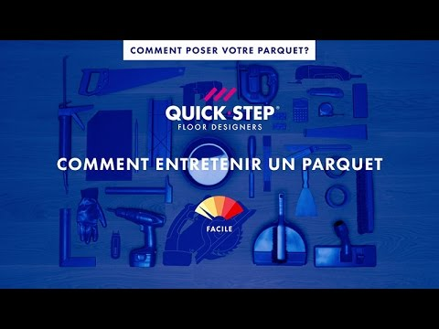 comment entretenir un parquet tutoriel quick step youtube. Black Bedroom Furniture Sets. Home Design Ideas