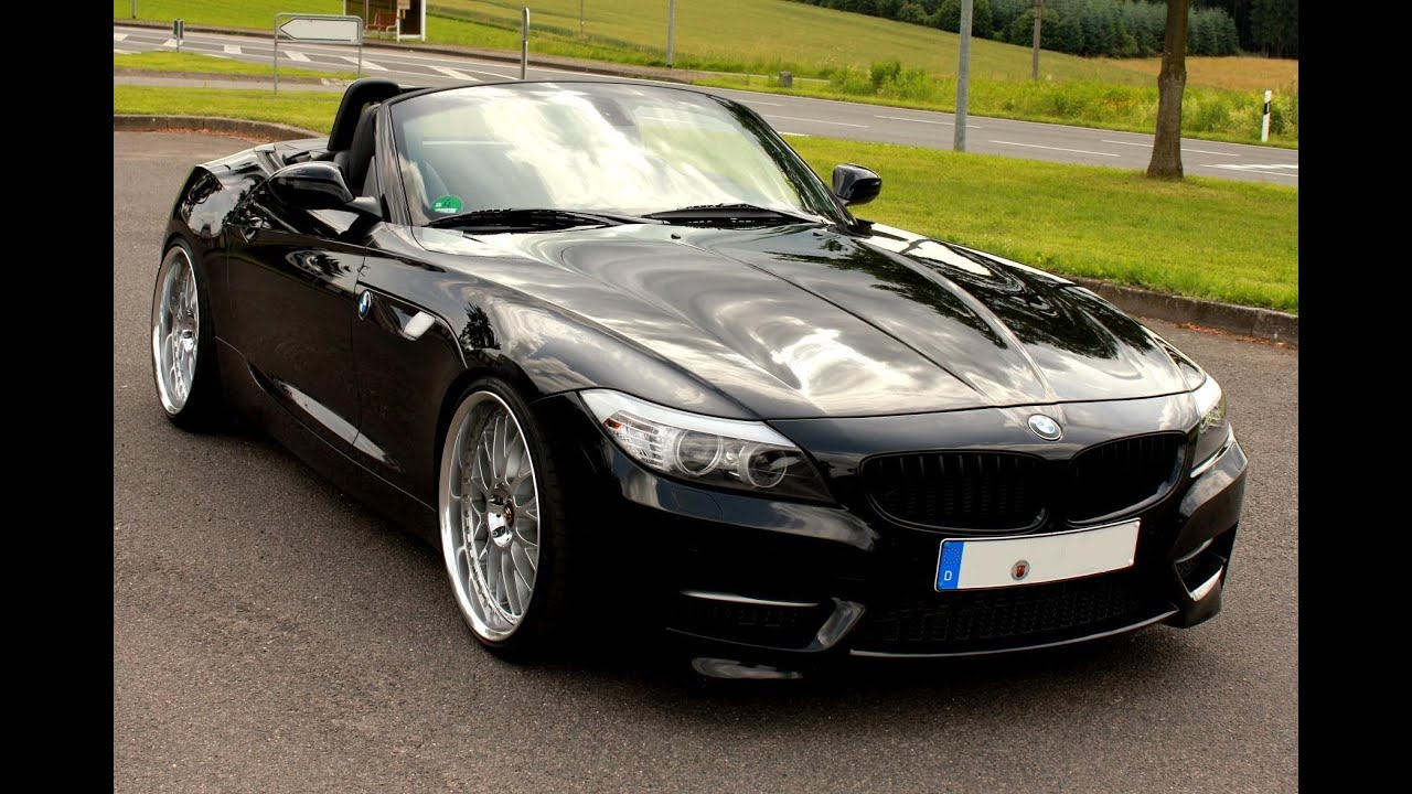 P And W BMW >> BMW Z4 sDrive 35is + Brutal acceleration + full revs sound ...