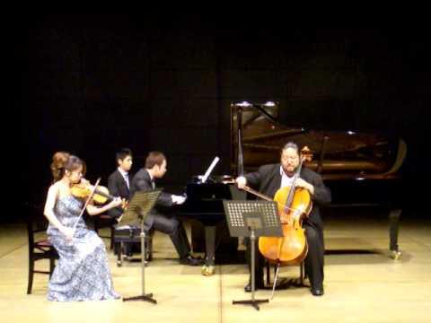 Brahms Piano Trio No.1 mov.1 (松本和将・上里はな子・向井航)