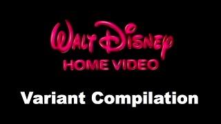 1986 Walt Disney Home Video Logo - Variant Compilation [VERSION 0.5]