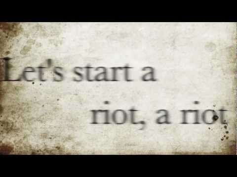 Riot Three Days Grace Lyrics