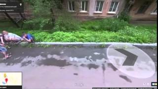 Google maps in Russia Free HD Video