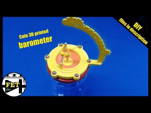 0 - 3D-gedrucktes Barometer für die eigene Gesundheit