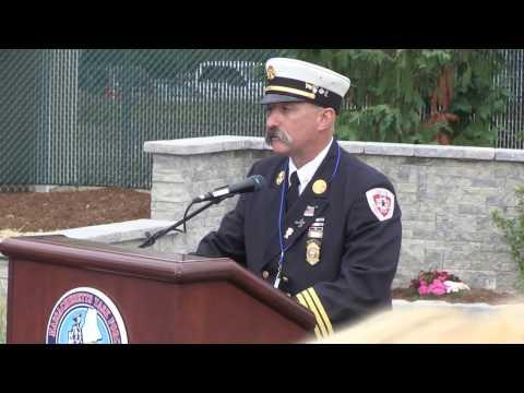 9-11 Memorial Dedication - Beverly, MA