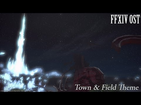 FFXIV OST Town and Field Themes - A Realm Remembered