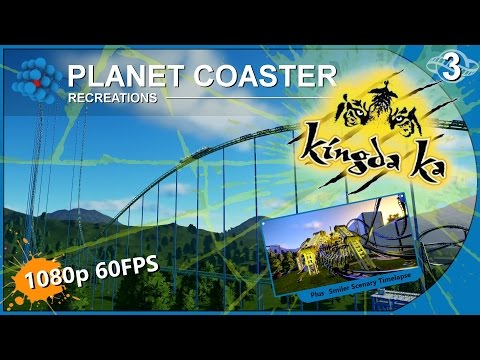 Planet Coaster - Recreations 03 - Kingda Ka - Six Flags Great Adventure United States