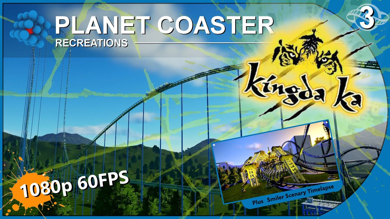 Kingda Ka Six Flags >> Planet Coaster - Recreations 03 - Kingda Ka - Six Flags Great Adventure United States - YouTube