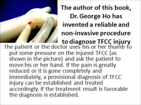 The TFCC ( Triangular Fibrocartilage Complex) home therapy with no ...