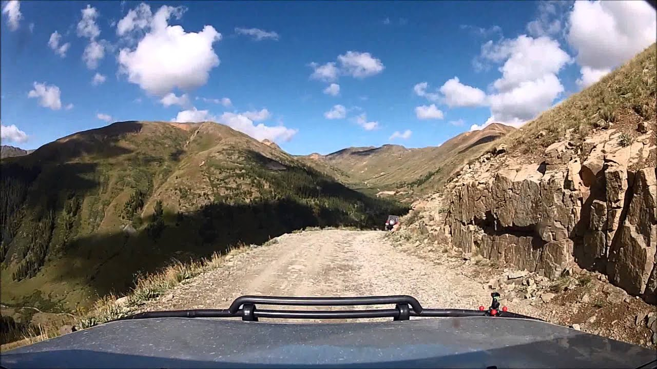Black Bear Pass Colorado >> Cinnamon Pass Lake City, Colorado - YouTube