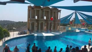 Dolphin show ADALAND Entrance Turkey