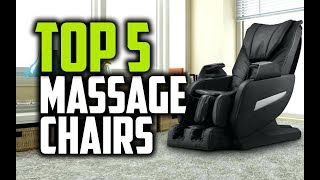 Best Massage Chairs in 2018 - Which Is The Best Massage Chair?