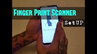 Samsung Galaxy S9 Plus Setup Finger Print Lock Security