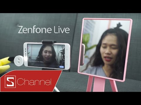 "Schannel - Mở hộp Asus Zenfone Live: Smartphone dành cho các ""thánh livestream"""