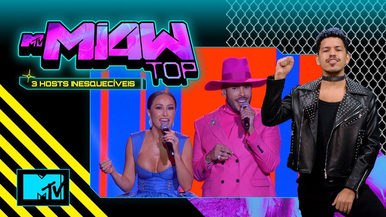TOP 3 Apresentadores Inesquecíveis | MTV MIAW TOP